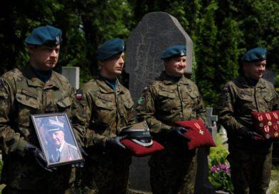 Pogrzeb Pułkownika Jana Bruźia